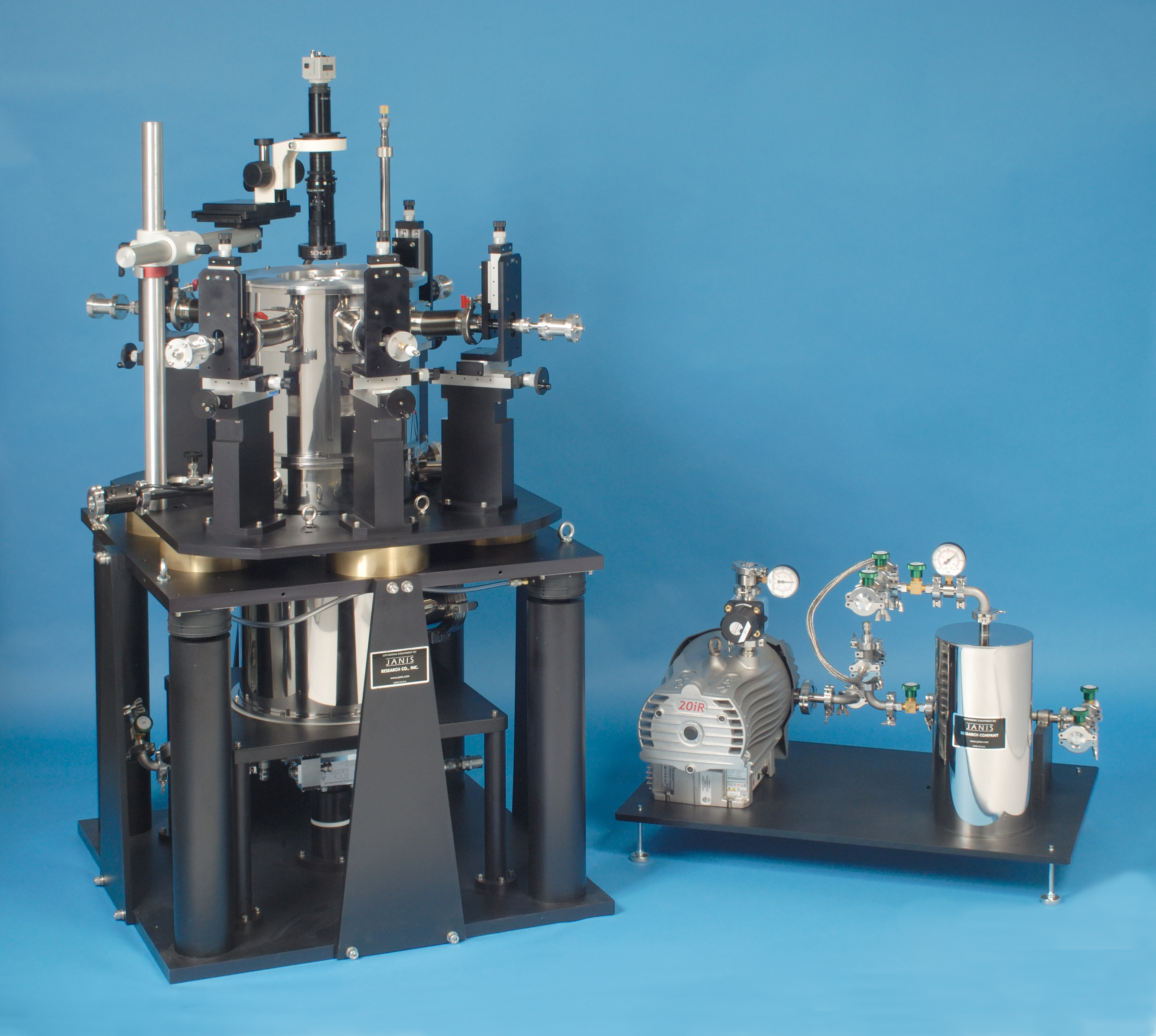 Superconducting cryogen-free probe station